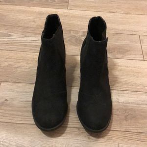 Maurice's brand black booties